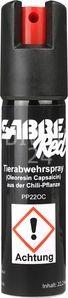 Sabre Red, Tierabwehrspray Pocket Clip, max. effektive Reichweite ca. 4 Meter, reicht für ca. 35 Sprühstöße von ca. 1 Sek., Wirkungsdauer ca. 1 Std., Inhalt 22,2 ml, Art.-Nr. 201PP220C