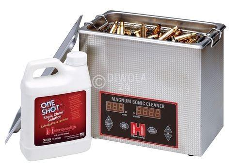 Hornady Ultraschallreinigungsgerät, 3 Liter Tank, für ca. 200 Hülsen .30-06, Art.-Nr.: 043341