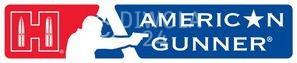 "Hornady Aufkleber ""American Gunner"", Größe ca. 11 x 4,5 cm, Art.-Nr.: 98011"