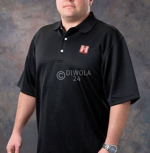 Hornady Polo-Shirt, schwarz, Größe S, Art.-Nr.: 9971S
