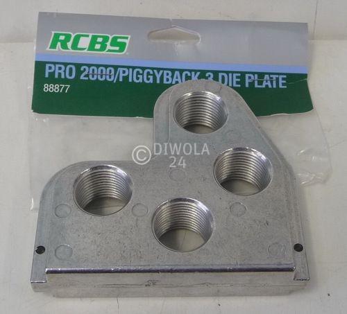 RCBS, Kopfplatte für Mehr-Stationen-Presse Pro 2000, Art.-Nr.: 88877