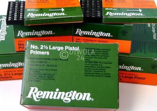 Reminigton 2½, Large Pistol Zündhütchen