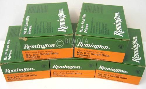 Reminigton 6½, Small Rifle Zündhütchen