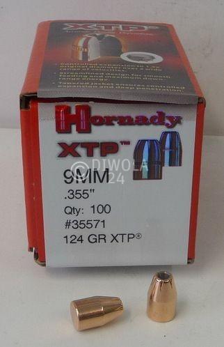 .355, 124 grain, Hornady Geschosse, HP/XTP, Art.-Nr.: 35571