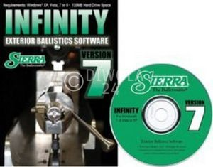 Sierra INFINITY Ballistic Software, Version 7, Sierra Art.-Nr.: 0701