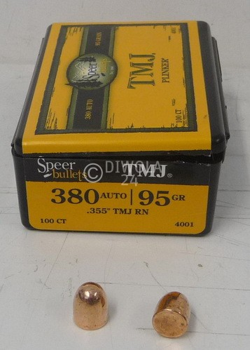 .355, 95 grain, Speer Geschosse, VM-Uni-COR, Art.-Nr.: 4001