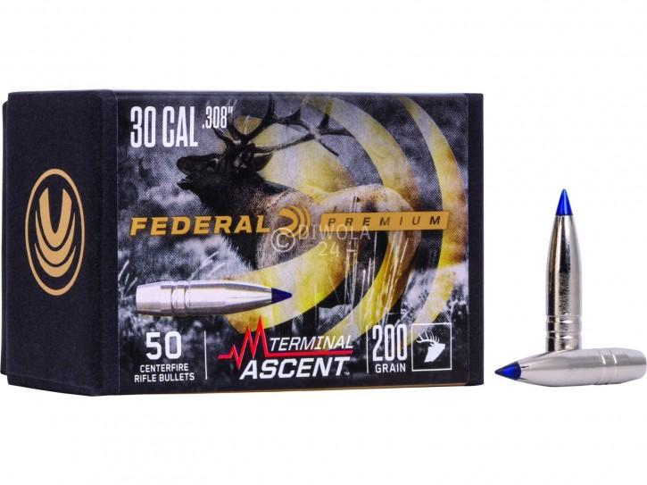 .308, 200 grain, Federal Geschosse, Terminal Ascent, Art.-Nr.: PB308TA2