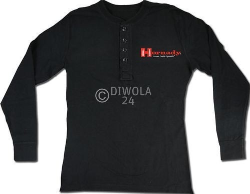 "Hornady Polo-Shirt  "" HENLEY "" , Größe L, Art.-Nr.: 91115174L"