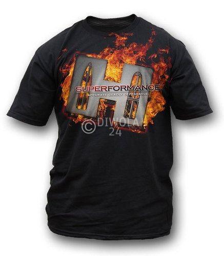 """Hornady T-Shirt  """" SUPERFORMANCE """" , Größe XL, Art.-Nr.: 91115177XL"""