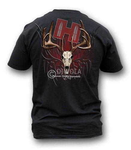 "Hornady T-Shirt  "" TRIBAL SKULL "" , Größe 2XL, Art.-Nr.: 911151832XL"