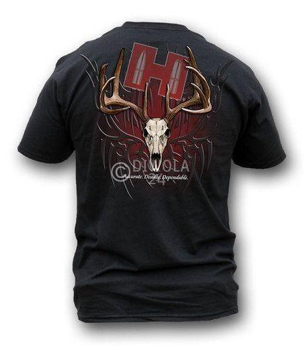 "Hornady T-Shirt  "" TRIBAL SKULL "" , Größe L, Art.-Nr.: 91115183L"