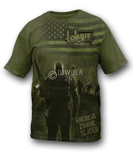 """Hornady T-Shirt  """" ZOMBIE PANDEMICS S """" , Größe 2XL, Art.-Nr.: 911154282XL"""