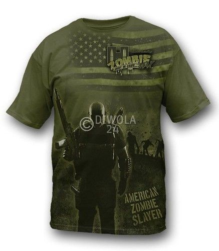 "Hornady T-Shirt  "" ZOMBIE PANDEMICS S "" , Größe M, Art.-Nr.: 91115428M"