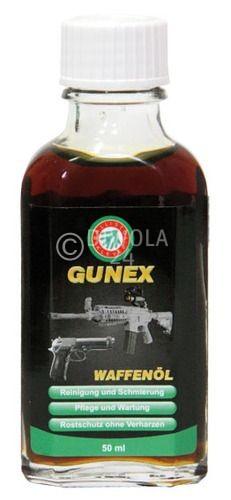 Ballistol GUNEX Waffenöl, Flasche mit 50 ml Inhalt