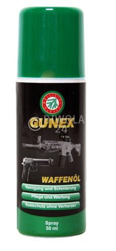 Ballistol GUNEX Waffenölspray, Flasche mit 50 ml Inhalt