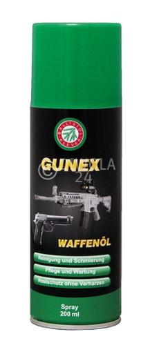 Ballistol GUNEX Waffenölspray, Flasche mit 200 ml Inhalt