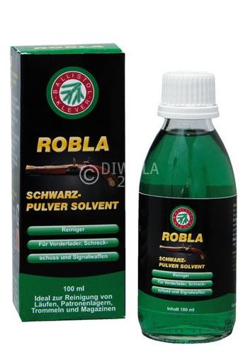 BALLISTOL Robla Schwarzpulver Solvent, Flasche mit 100 ml Inhalt