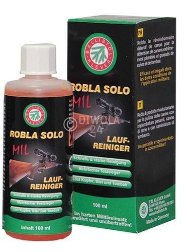 BALLISTOL Robla Solo MIL Laufreiniger, Flasche mit Dosierspitze mit 65 ml Inhalt