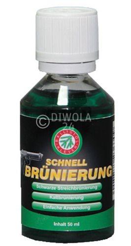Ballistol KLVER Schnellbrünierung, Flasche mit 50 ml Inhalt