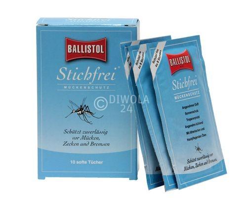 BALLISTOL Stichfrei, Tücher, 10 Stück Inhalt