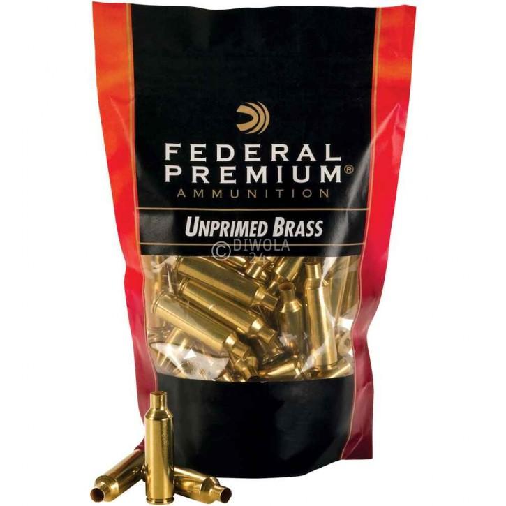 .243 Win. Federal Hülsen, bereits mit Federal 210, Large Rifle Zündhütchen gezündert, Art.-Nr.: UP243EP