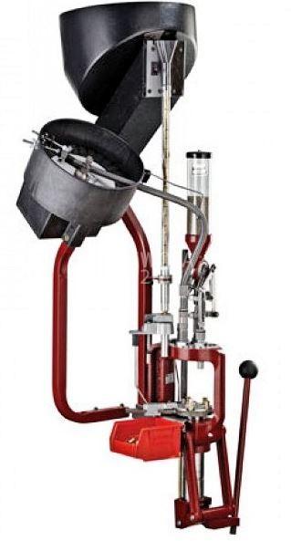 Hornady Lock´n Load Ammo Plant - Komplettmaschine u.a. Presse, Hülsen- u. Geschosszuführung in 220 V, Art.-Nr.: 095165