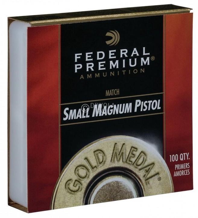 Federal 200, Small Pistol Magnum, Gold Medal Zündhütchen